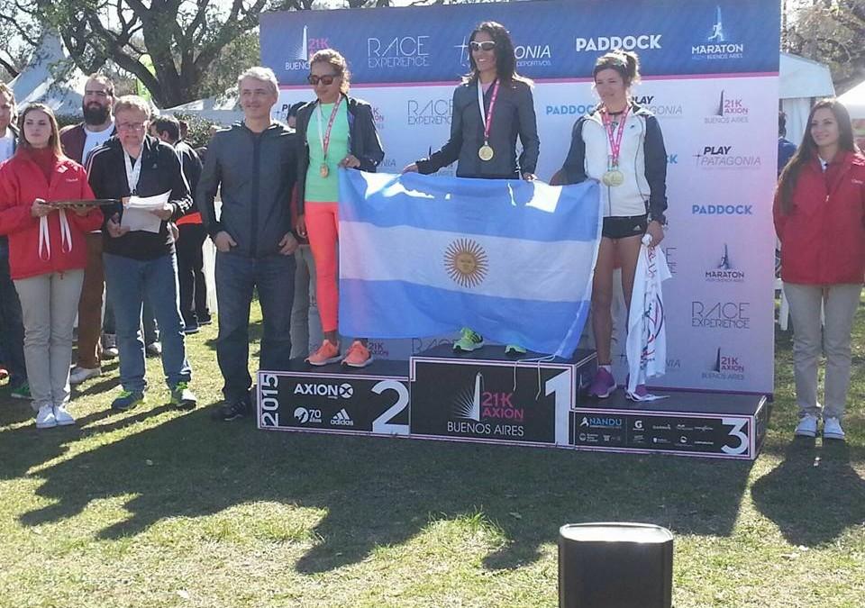 Lujan Urrutia 3º en el Nacional de Media Maratón