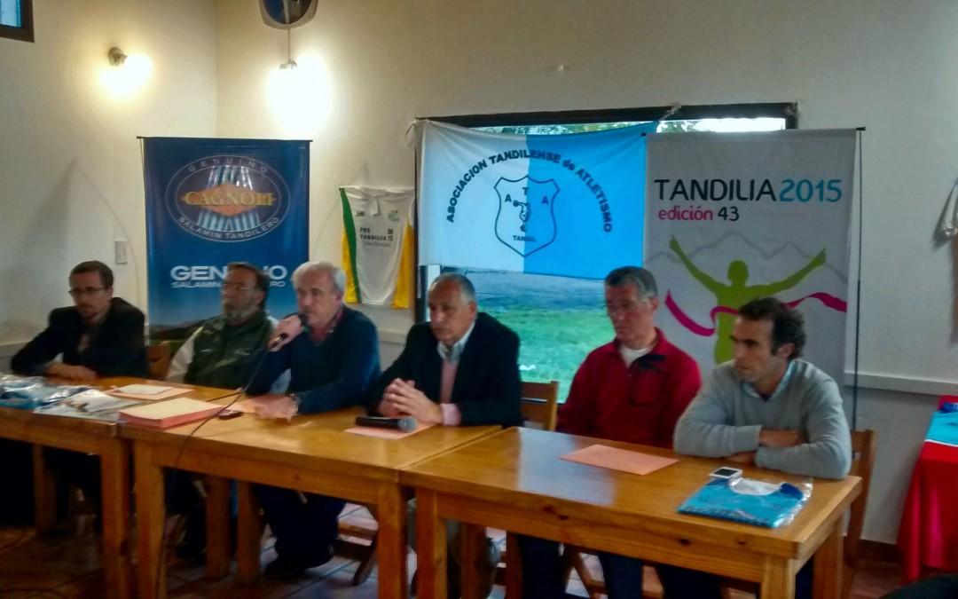 Conferencia de Prensa 43º Edición Tandilia 2015