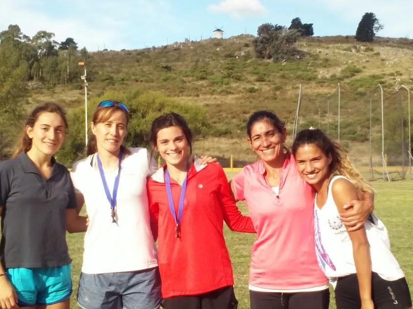 Atletas Participantes del 45º Campeonato Provincial de Mayores