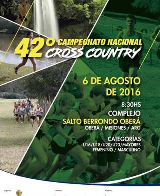 Delegación Tandilense en el Campeonato Nacional de Cross 2016
