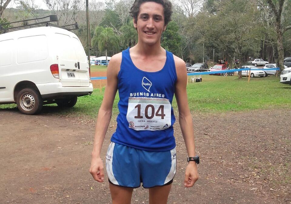 Claudio Pereyra Subcampeón Nacional de Cross Country, Vanesa Ernaga Tercera