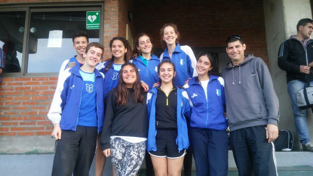 La delegación Tandilense el día de Hoy en el XXXVII Campeonato Provincial U18