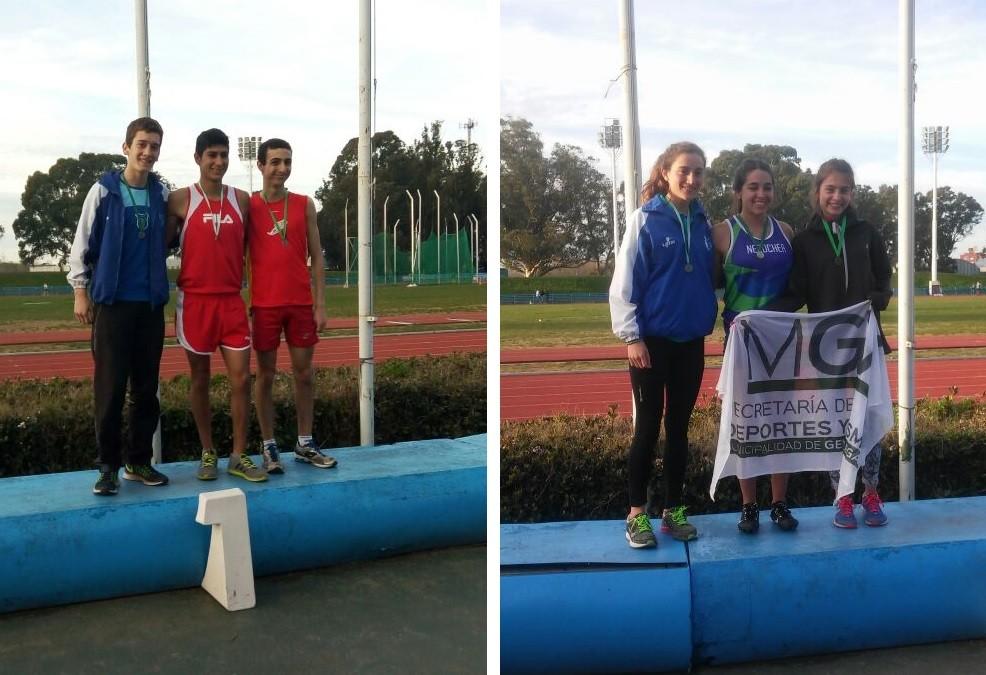 Redolatti y Ponssa se visten de Nacional en el 50º Campeonato U18