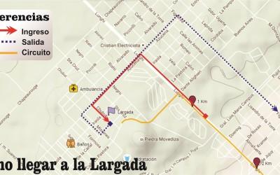 Como acceder a la línea de Largada y Llegada de Tandilia 2018