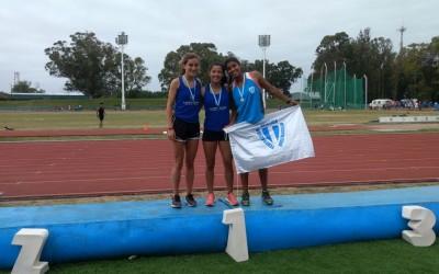 Amalia Ponssa Subcampeona Nacional U20 en 400 metros llanos