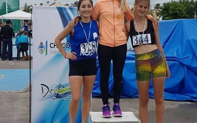 Laura Vasquez Subcampeona Argentina de Marcha Atlética