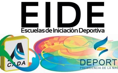 Programa Horario Encuentro Regional Atletismo EIDE 2017