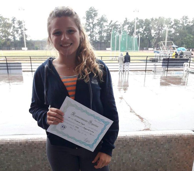 Magali Dadario 1º en Encuentro Argentino U16 con mejor marca Nacional de Temporada