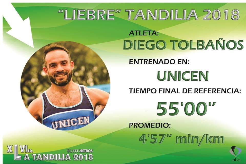 ¿Corres en torno a los 55 minutos Tandilia? Esta será tu «liebre»