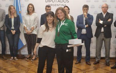 Reconocimiento a Magali Dadario en la Cámara de Diputados de la Nación Argentina
