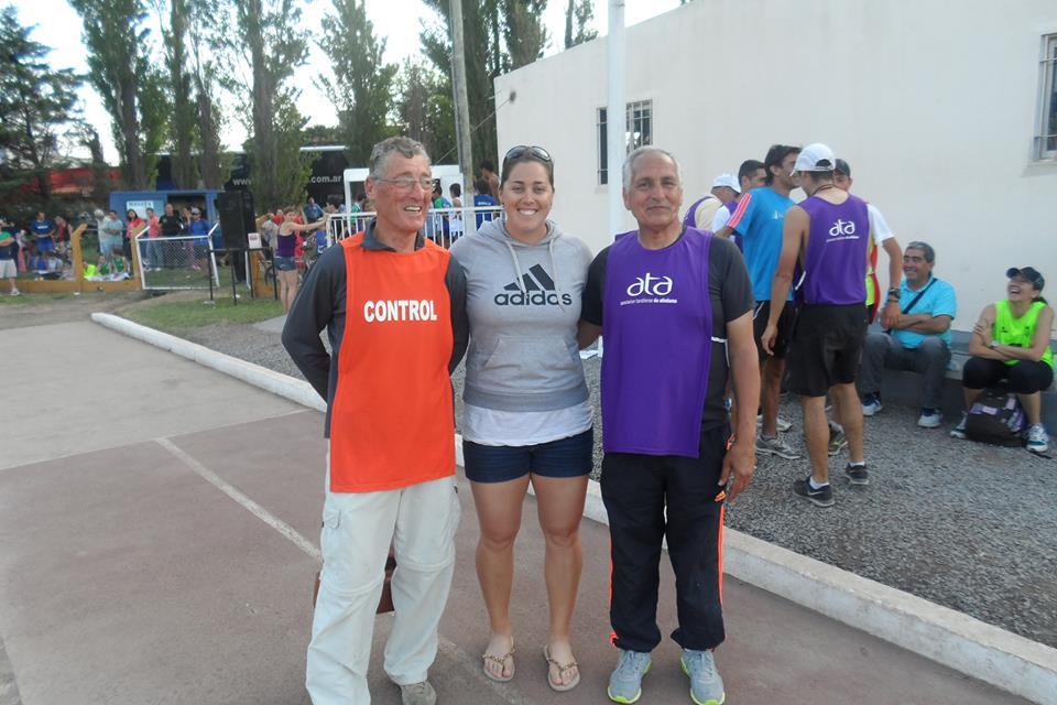 Rocío Comba, atleta mundialista, también nos visitó en Tandil….
