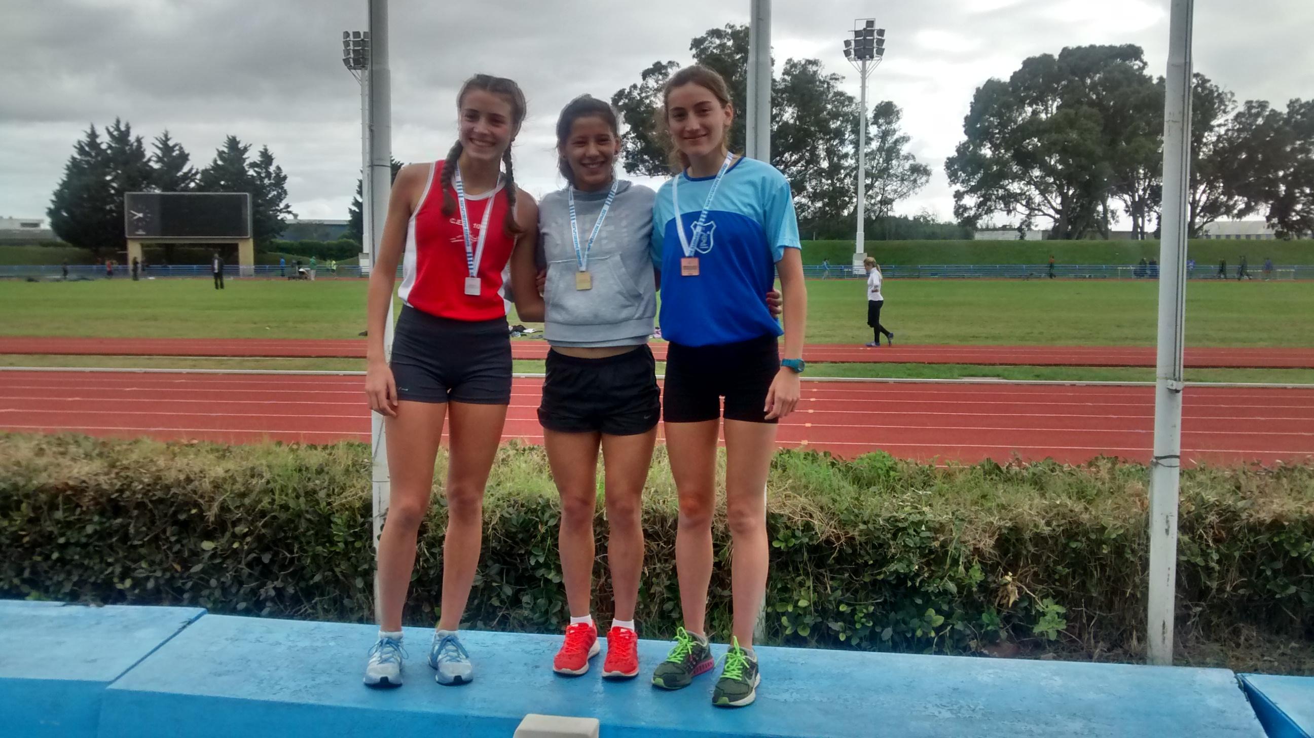 Amalis Ponssa 3º en 400 metros con vallas