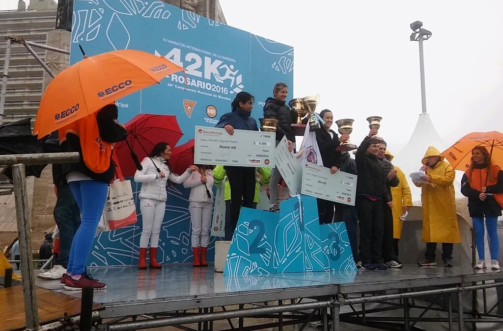 Lujan Urrutia Campeona Argentina de Maratón
