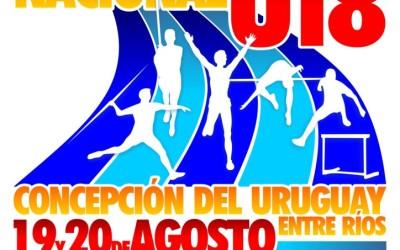 Dadario, Ance y Saez competirán en el Nacional U18
