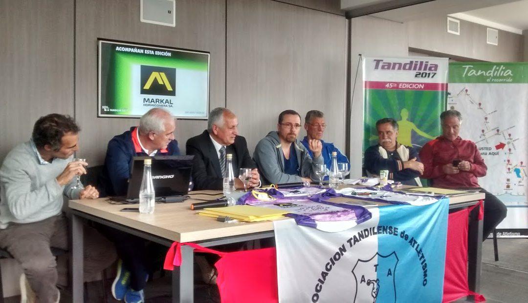 Presentación en Conferencia de XLV Tandilia 2017