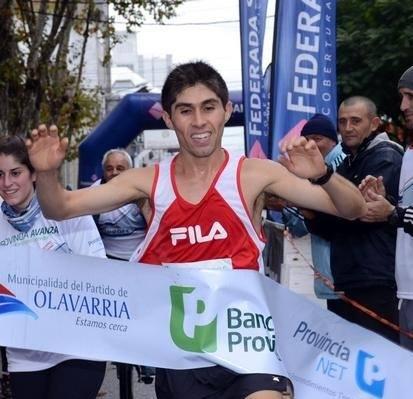 El Olavarriense Gustavo Fernandez buscará Podio en Tandilia