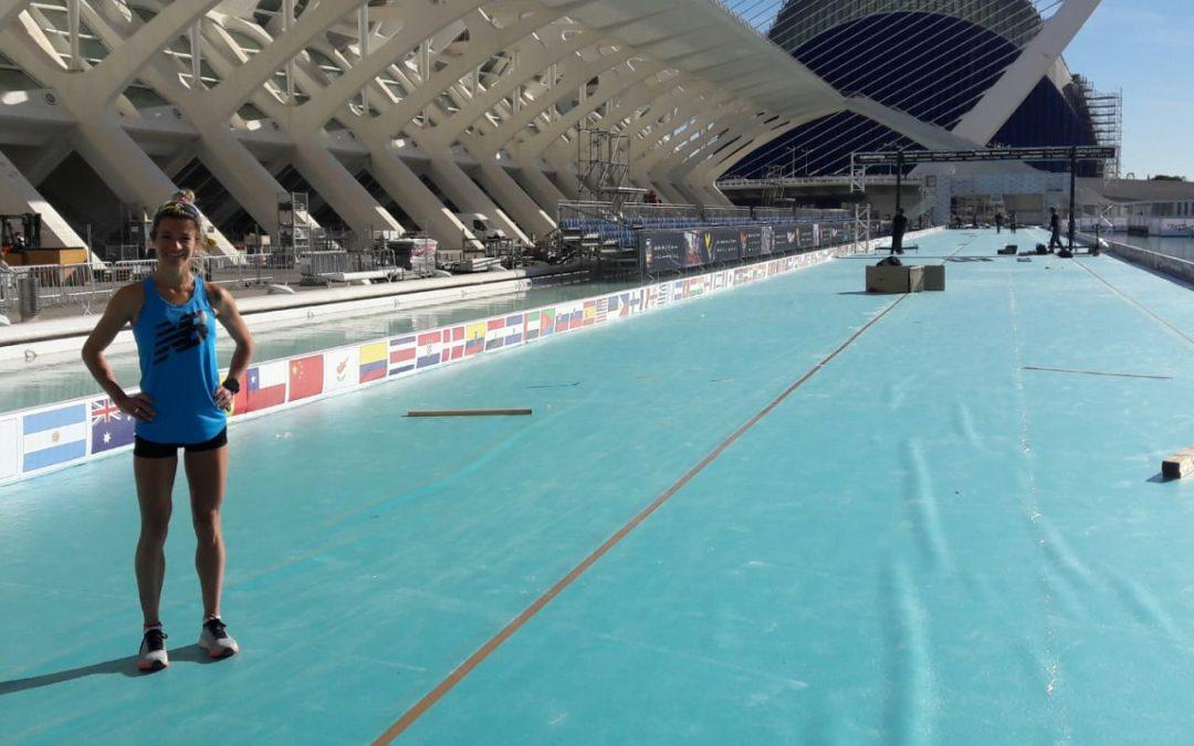 La atleta Tandilense Maria Lujan Urrutia competirá este Domingo en el Maratón Trinidad Alfonso EDP en Valencia, España