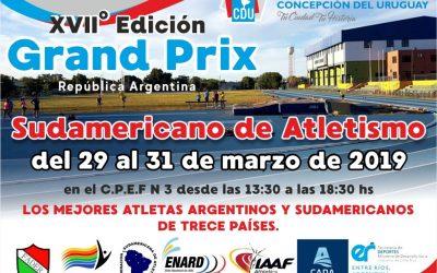 Atletas Tandilenses compitieron en los Grand Prix Sudamericanos